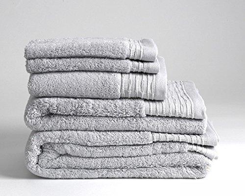 Luxury Supreme Handtücher aus 100 % ägyptischer Baumwolle, 700 GSM, Hotelqualität, schwarz, 10 Piece Bale B01N3RI0F3 Sets