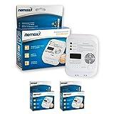 2x Nemaxx Carbon Monoxide Detector CO Alarm Sensor Warning with 7 Year Battery