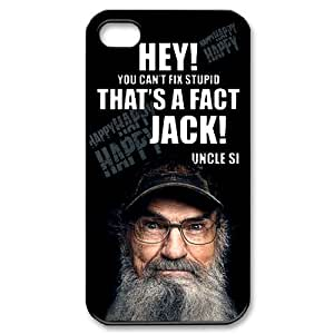 Hey Jack Duck Dynasty Apple Iphone 6 4.7 Case Cover Uncle Si Silas It's On Like Donkey Kong Happy Quotes Camo
