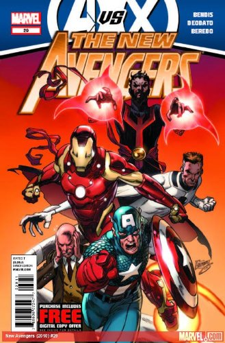"""Read Online NEW Avengers #29 """"The Avengers Versus the Unbelievable Might of the X-men"""" ebook"""