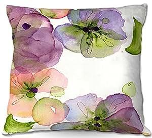 Al aire libre Patio sofá manta almohadas de DiaNoche Designs barbacoa al aire libre ideas por Dawn Derman flores caída