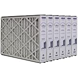 Trion Air Bear 259112-101 (6 Pack) Pleated Furnace Air Filter 16x25x3 MERV 11