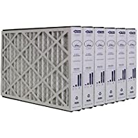 Trion Air Bear 259112-101 (6 Pack) Pleated Furnace Air Filter 16x25x3 MERV 11
