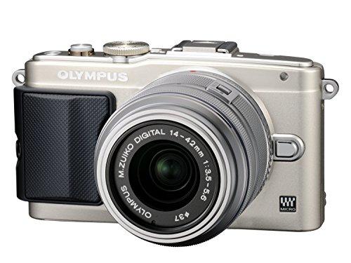 オリンパス ペンライト EPL6 シルバー レンズキット M.ズイコー デジタル1442mm F3.55.6 II R