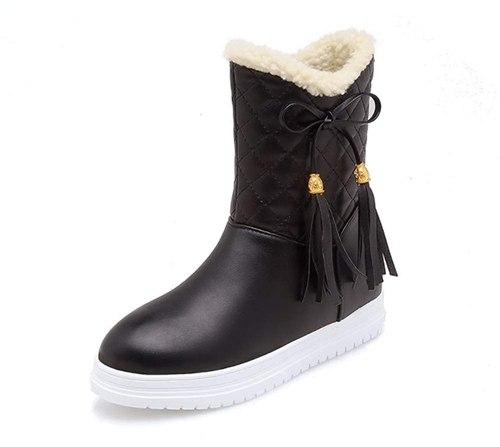 ALLAK Womens Winter Snow Boots