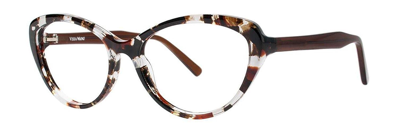 8c5eb54c9255 VERA WANG Eyeglasses V367 Crystal Tortoise at Amazon Women s Clothing store