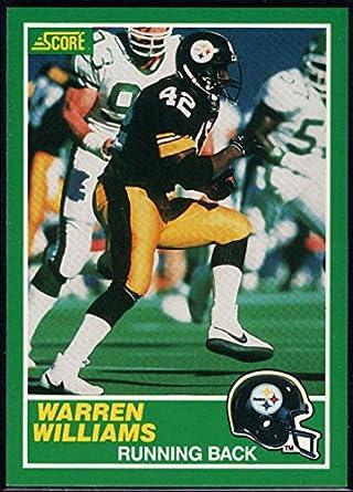 finest selection bfa46 e111c Amazon.com: Football NFL 1989 Score #226 Warren Williams RC ...