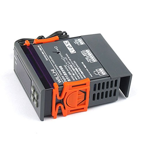 LtrottedJ110V - Termostato digital con sensor de temperatura, 10 A: Amazon.es: Hogar