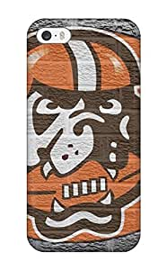 Excellent Iphone 5/5s Case Tpu Cover Back Skin Protector Clevelandrowns J hjbrhga1544