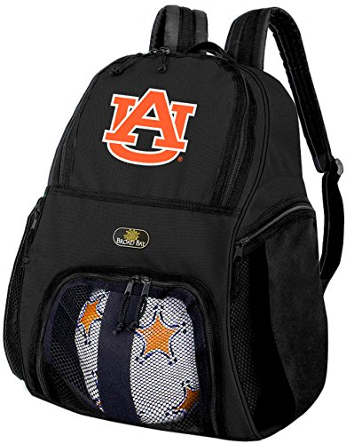 Broad Bay Auburn Soccer Backpack or Auburn University Volleyball Bag by Broad Bay