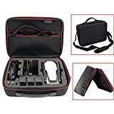 Inverlee Waterproof Carry Storage Case Bag for DJI Mavic Air Quadcopter,3 Battery and Control (Black)
