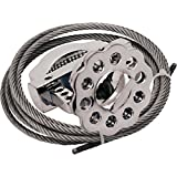 Lockout Safety Supply 7243 Stainless Multipurpose Cable Lockout, Steel