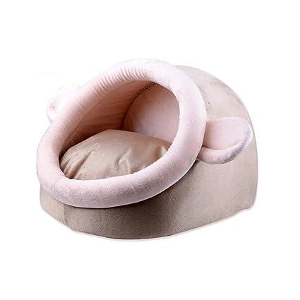 PLDDY Nido de Mascotas, Cama para Perros, Saco de Dormir, Felpa Corta +