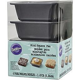 Wilton 2105-4637 Square Pie Pan Set, Mini
