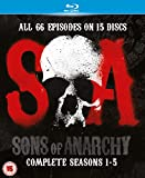 Sons of Anarchy-Seasons 1-5 [Blu-ray]