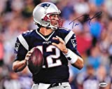 Tom Brady New England Patriots Autographed Signed 8 x 10 Photo - COA - NRMT/MINT Condition
