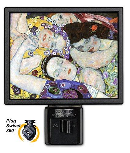 Art Plates NL-21 Klimt The Virgin Night Light