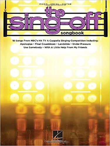 Buy The Sing-Off Songbook: 18 Songs from NBC's Hit TV a Capella