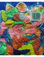 كيس بلونة 100 قطعة الوان مختلفة