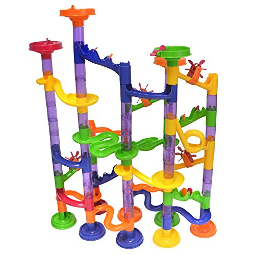 SuSenGo Translucent Marble Runs Super Set 105