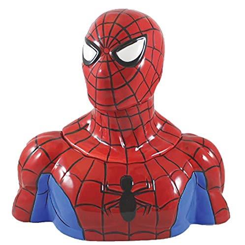 Vandor Marvel Spider-Man Sculpted Ceramic Cookie Jar #26141 (Spiderman Cookie Jar)