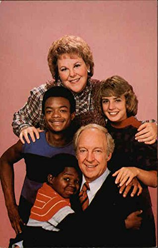 Cast of Diff'rent Strokes - Gary Coleman Actors Original Vintage Postcard