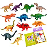 "Creative Adventure Realistic Looking 7"" Dinosaur Toys for Boys Girls Kids & Toddlers Age 3 4 5 6..."
