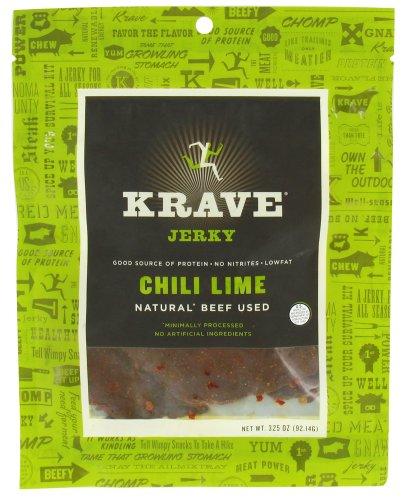 Krave Jerky - Gourmet Beef Jerky Garlic Chili Pepper