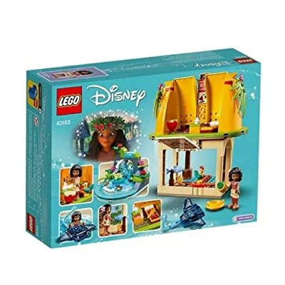 LEGO Disney Moana's Island Home 43183: Toys & Games