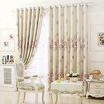 New Arrival Rustic Window Curtains For Dining Room Kitchen Blackout D3