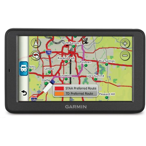 Garmin dezl 560LMT 5-Inch Widescreen Bluetooth Portable Trucking GPS Navigator with Lifetime Map & Traffic Updates (Certified Refurbished) by Garmin