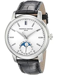 Frederique Constant Mens FC715S4H6 Classics Analog Display Swiss Automatic Black Watch