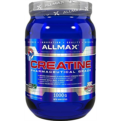 ALLMAX Nutrition Creatine Powder 100 Pure Micronized Creatine Monohydrate Pharmaceutical Grade Creatine 400G by AllMax
