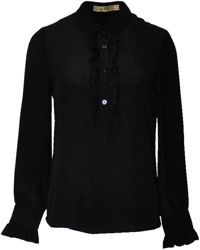 ANA PIRES MILANO Camisa Grace, Mujer, 100% Seda, Blusa: Amazon.es: Ropa y accesorios