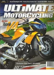 This auction is for the MAY / JUNE, 2012 ISSUE OF ULTIMATE MOTORCYCLING Magazine. The magazine is fresh, We'll pick the best available copy for you!! All magazines come exactly as pictured, with NO address labels. Also, please visit our other...