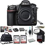 Nikon D850 FX-Format Digital SLR Camera (Body Only) 45.7MP - Bundle with Godox TT350N Mini Thinklite TTL Flash for Nikon Cameras + Editing Software + More