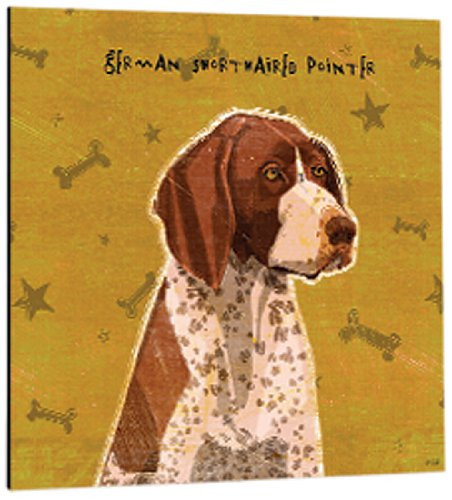 German Shorthaired Pointer Tree-Free Greetings 61023 Premium Square Eco Magnet 3.5-Inch