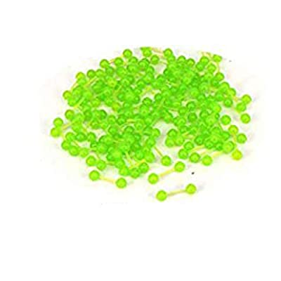 Aventik 40pcs Lead Dumbbell Shaped Fish Eyes Realistic Fly Tying Materials,...