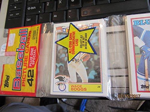 1987 Topps Baseball Card Rack Pack - 48 Cards - Factory Sealed
