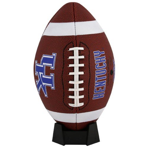 NCAA Game Time Full Size Football , Kentucky Wildcats, Brown, Full Size