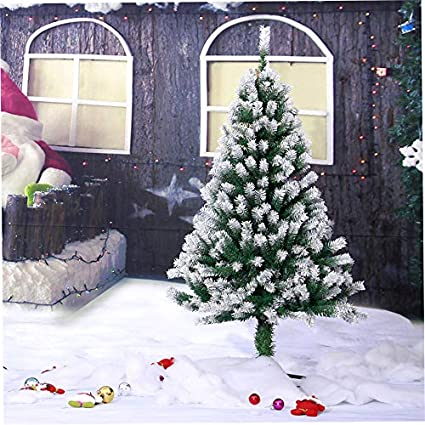 Christmas Tree Spray Snow.Amazon Com Large 1 2 1 5 1 8m Spray Snow White Artificial