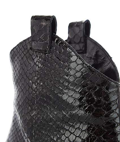 Giampaolo pelle nera in Stivaletti Ar115black Viozzi donna fzqXxnE