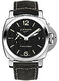 Panerai Luminor 1950 3 Days GMT Acciaio Men's Automatic Watch - PAM00535