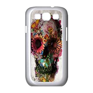 Skull Customized Cover Case for Samsung Galaxy S3 I9300,custom phone case ygtg556306