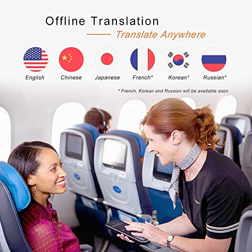 Alcorrect JoneR Voice Language Translator Device, 3.1inch Touch Screen, 45 Languages+57 Accents Instant Two-Way Translator, Support Photo Translation & 6 Languages Offline Translation, GO by Alcorrect (Image #2)