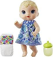 Brinquedo Boneca Baby Alive Hora do Xixi Loira - Com Roupinha removível e acessórios - E0385 - Hasbro