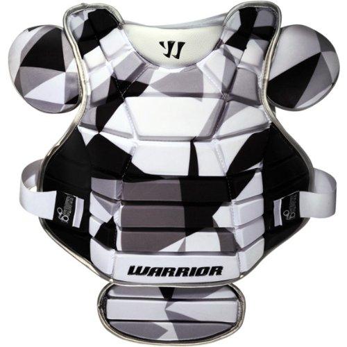 Warrior Lockdown Chest Pad (Medium, White)