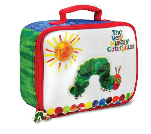 Eric Carle The Very Hungry Caterpillar Lunch Bag (Best Selling Author Ever)