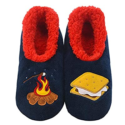 Snoozies Pairables Womens Slippers - House Slippers - Smores