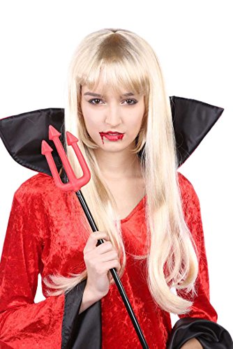 Underworld Vampire Costume (Long Vampires Wig Blonde)
